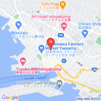 民宿なぎさ荘の地図