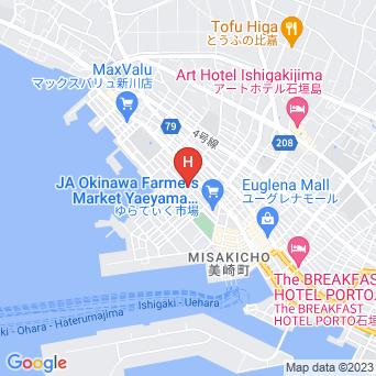 素泊まりのとら家の地図