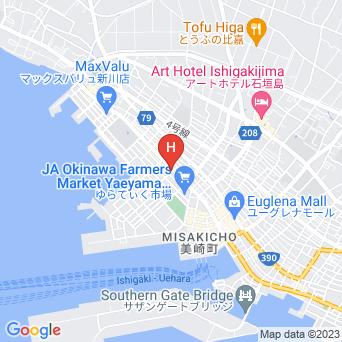 Guest House かりゆし石垣島の地図