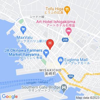 アイランド@ISHIGAKIの地図