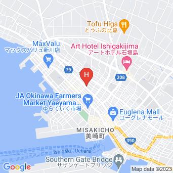 素泊まり福民宿の地図