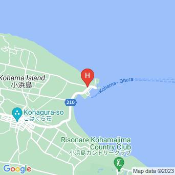 小浜島総合案内所宿泊の地図
