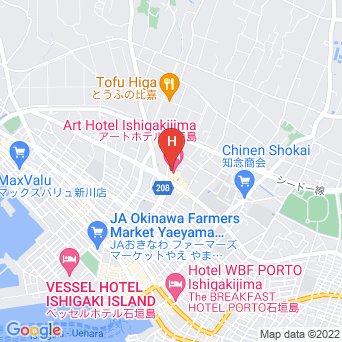 アートホテル石垣島の地図