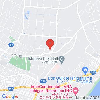 ヴィレッジハウス石垣島の地図