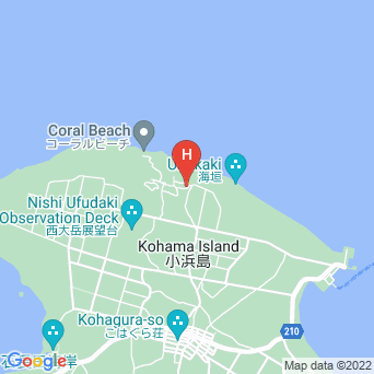 ゲストハウス美ら浜の地図