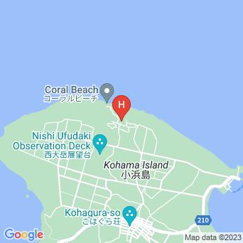 カナンリゾート小浜/Canaan Resort COFFEE&HOTEL 小浜島の地図