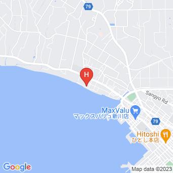 ゲストハウスコーラルの地図