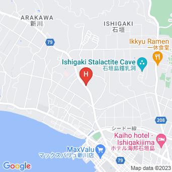 マリンロッジ・マレア石垣島の地図