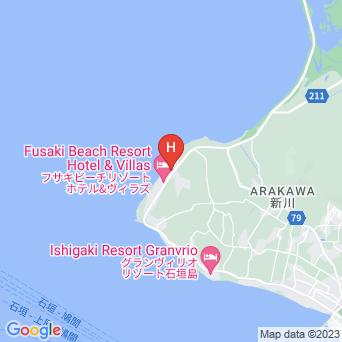ホテル海邦 フサキ本館/別館の地図