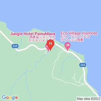 西表島ジャングルホテル パイヌマヤの地図