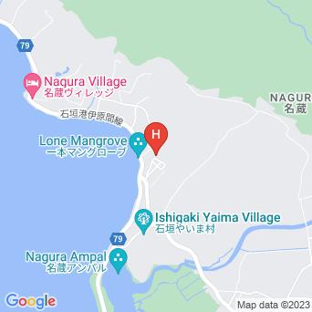 名蔵・獅子森の家の地図