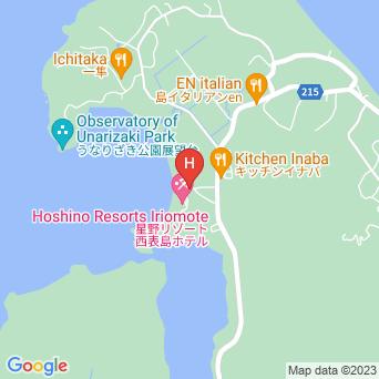 ホテル ニラカナイ西表島の地図