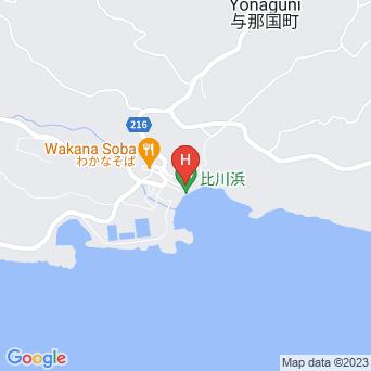 民宿月の浜の地図