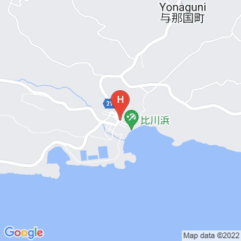 民宿山水荘の地図