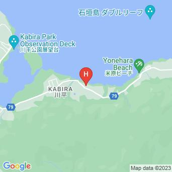 民宿あしび島の地図