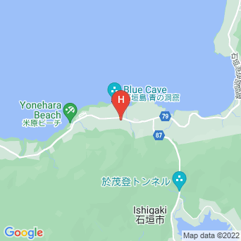 小さなペンション藍の地図
