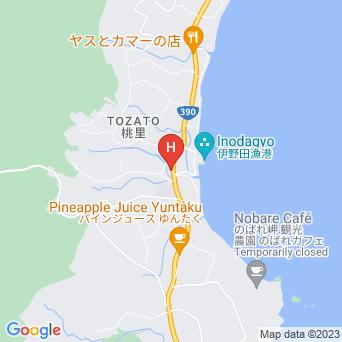 サン・グリーングラス リゾートホテルの地図