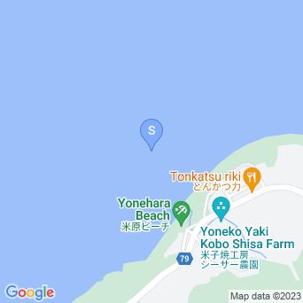 米原ビーチアウトリーフの地図