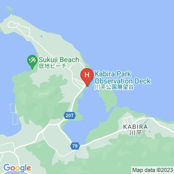 川平公園宿所の地図