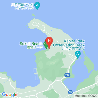 ラ・ティーダ石垣リゾートの地図