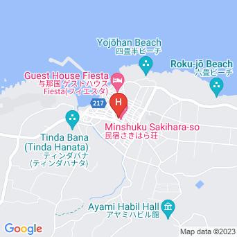 旅の館 阿檀/ゲストハウスADANよなぐにの地図