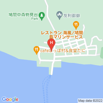 島茶屋&宿屋あだなしの地図