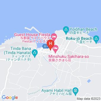 ふじみ旅館の地図