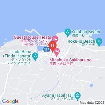 祖内 おじぃーの家の地図