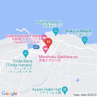 民宿ふくやまの地図