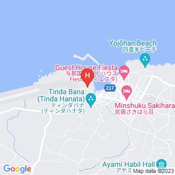 民宿さんぺい荘の地図