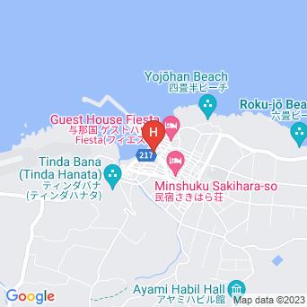 ホテル入船の地図