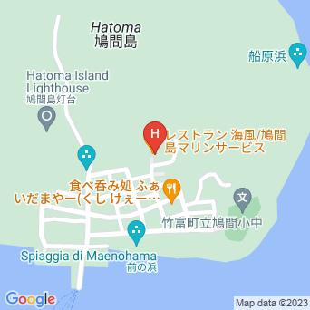 民宿海風/ゲストハウスの地図