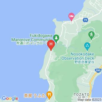 ペンションアクアガーデンの地図