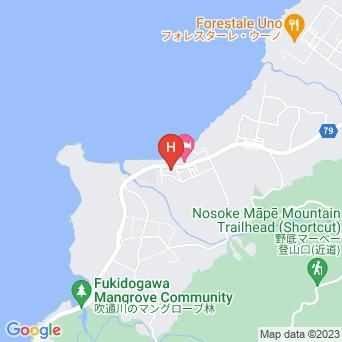 ゲストハウスみやび石垣島の地図