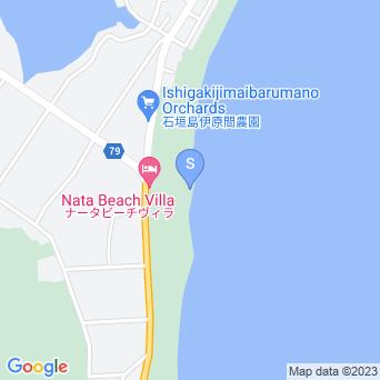 ナータビーチ/長田浜の地図