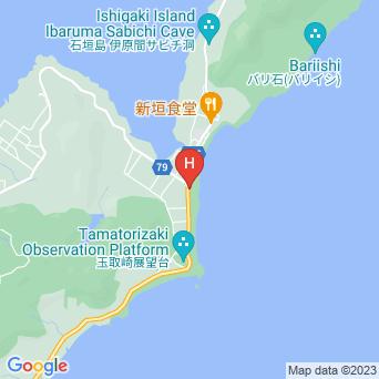 ナータビーチヴィラの地図