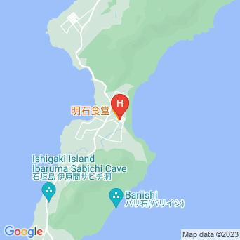 民宿明石の地図