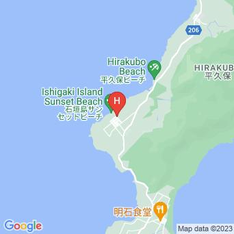 石垣島久宇良 星と海の宿の地図