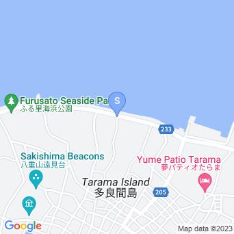 ふる里海浜公園(トゥガリ゜ラトゥブリ)の地図