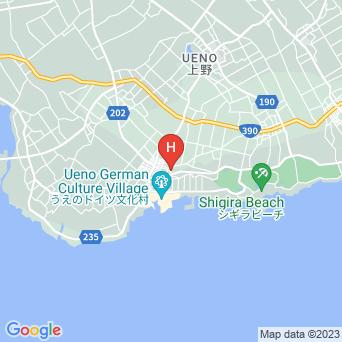 ヒルズヴィラ宮古島の地図