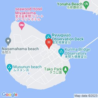 ペンションたきなかの地図