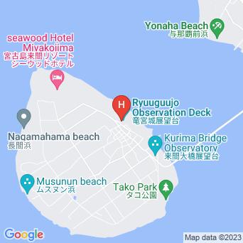 民宿来間美ら島館の地図