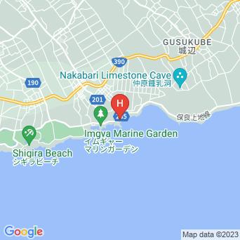 the SEASHOREの地図