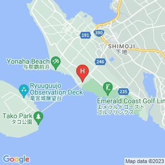 宮古島皆愛マンションの地図