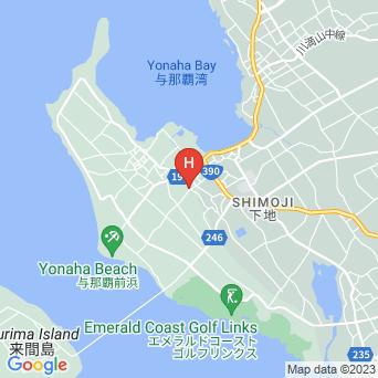 ゲストハウスちゅらの地図