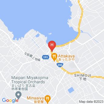 民宿カビラ家の地図