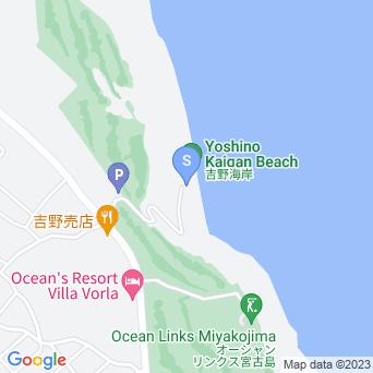 吉野ビーチ/吉野海岸の地図