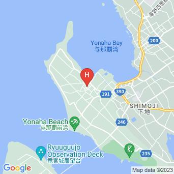 ゲストハウス宮古島の地図