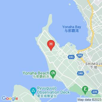 民宿ヨナ・パハレの地図
