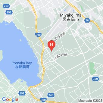 宮古島ペンション ライトマザーの地図